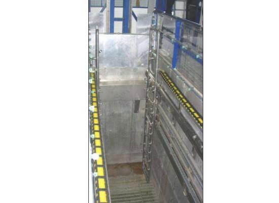 Gruppo idro-meccanico per spruzzatura diretta di acqua