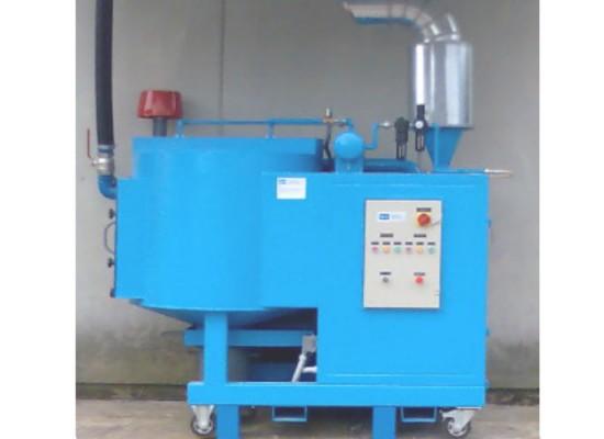 Apparecchiatura mobile per la filtrazione e raccolta di polveri provenienti dalla lavorazione del kevlar