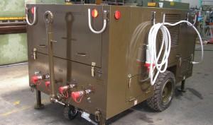 Banco mobile a doppio circuito idraulico