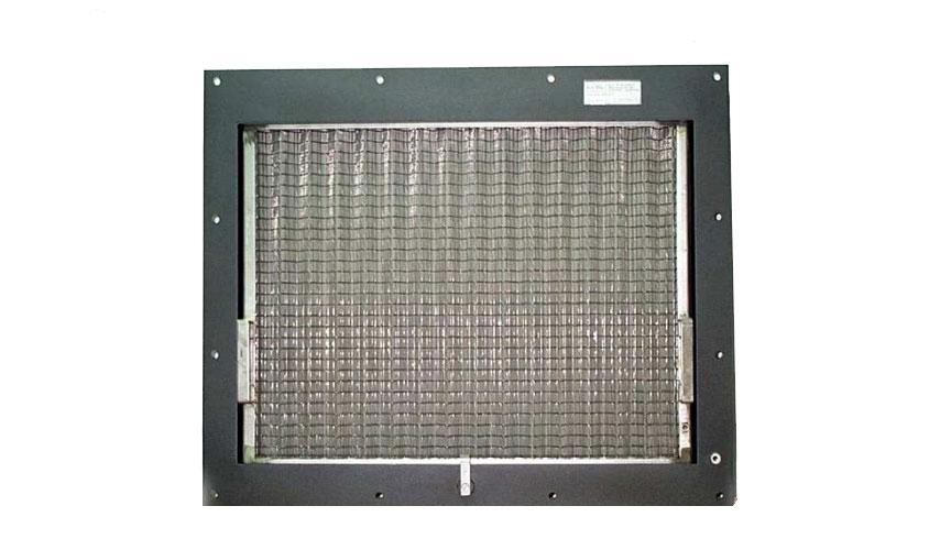 Filtro completo di ventilazione per convertitore posto sul sottocassa treni