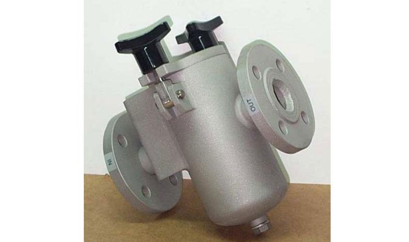 Filtro a cestello per impianti di raffreddamento ad acqua deionizzata